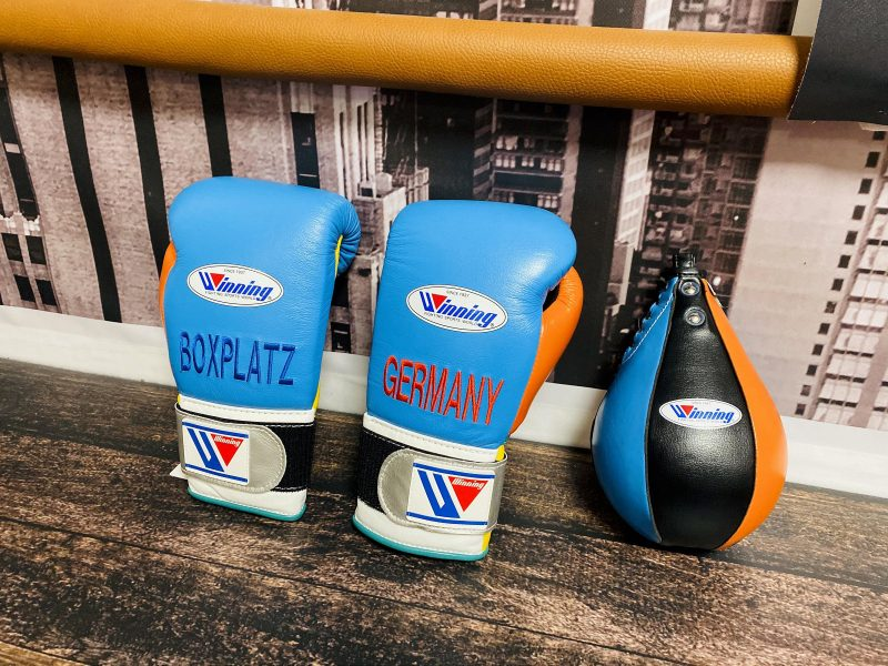 Winning Boxing Custom Equipment